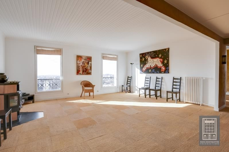 Vente de prestige appartement Paris 18ème 1320000€ - Photo 3