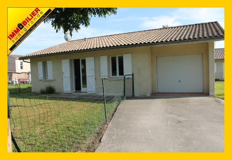 Vente maison / villa Bazas 139800€ - Photo 1