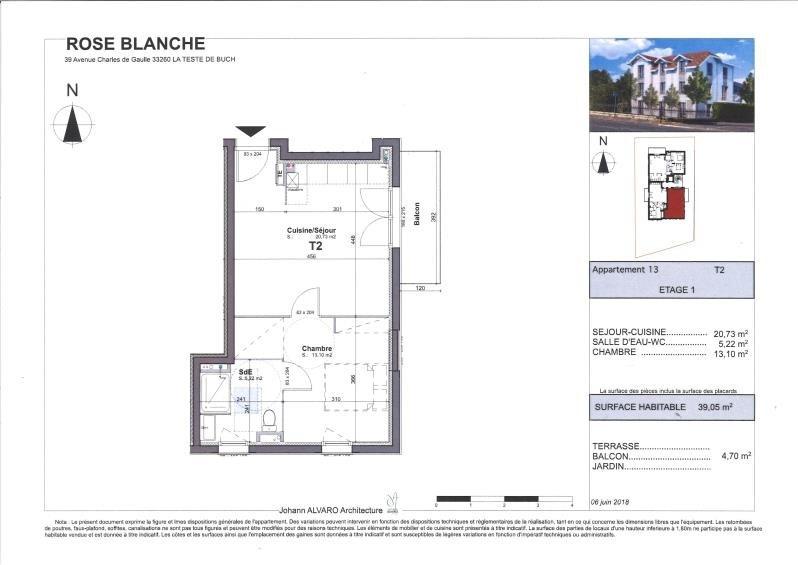 Vente appartement La teste de buch 179550€ - Photo 1