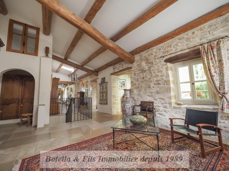 Venta de prestigio  casa Uzes 1690000€ - Fotografía 7