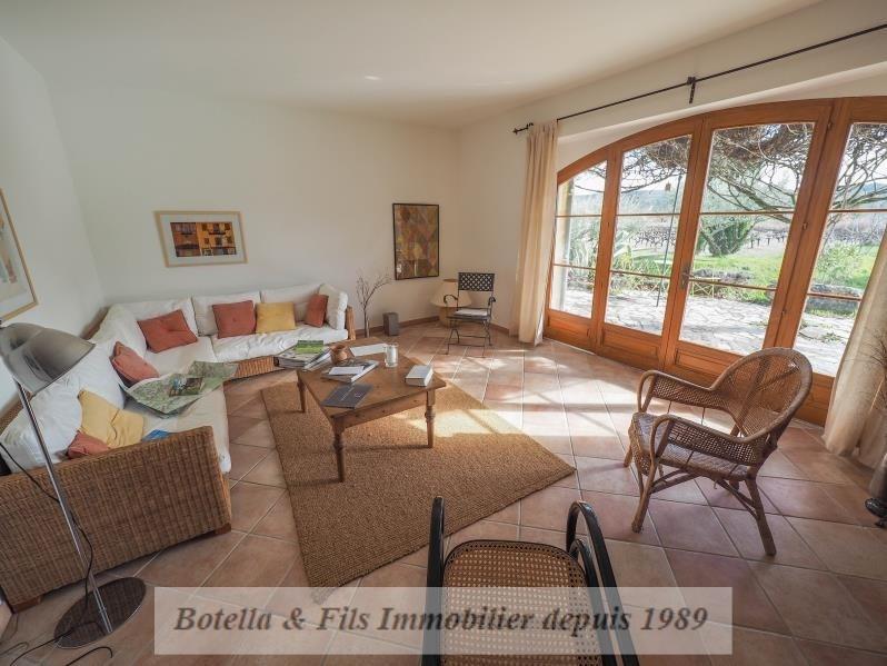 Vente de prestige maison / villa Goudargues 485000€ - Photo 6