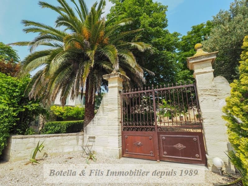 Immobile residenziali di prestigio casa Uzes 1570000€ - Fotografia 2