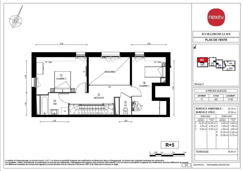 Revenda apartamento Villeneuve le roi 320000€ - Fotografia 4