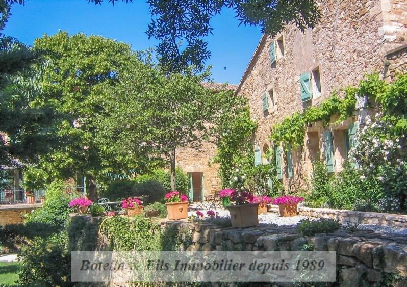 Immobile residenziali di prestigio casa Uzes 1595000€ - Fotografia 2