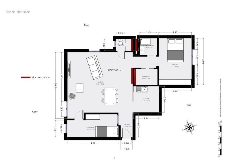 Vendita appartamento Paris 15ème 590000€ - Fotografia 9