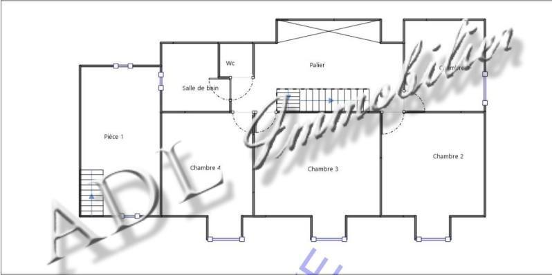 Sale house / villa Coye la foret 418000€ - Picture 9