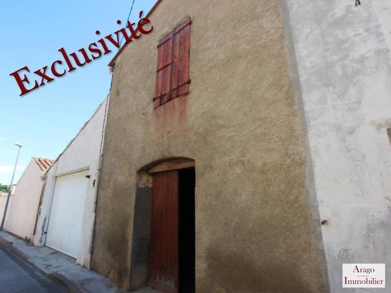 Sale house / villa Rivesaltes 40400€ - Picture 1