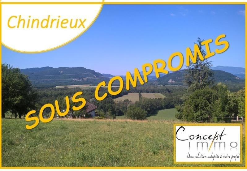 Venta  terreno Chindrieux 130000€ - Fotografía 1