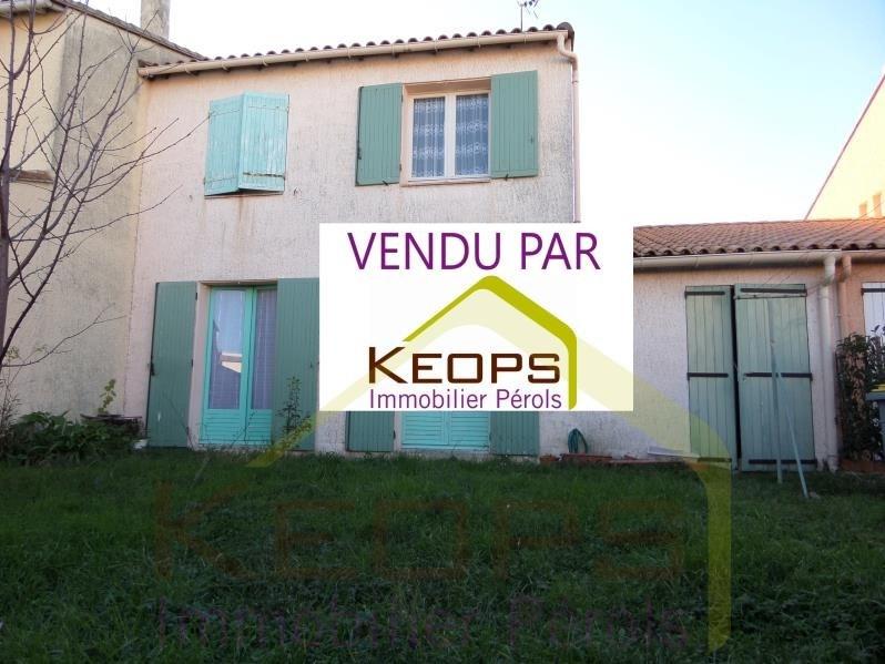 Vente maison / villa Perols 286000€ - Photo 1
