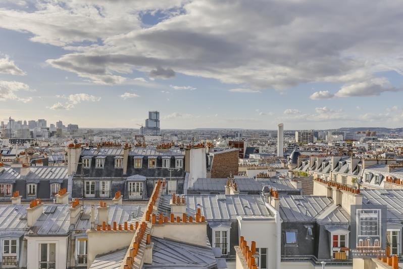 Vente de prestige appartement Paris 18ème 1320000€ - Photo 2