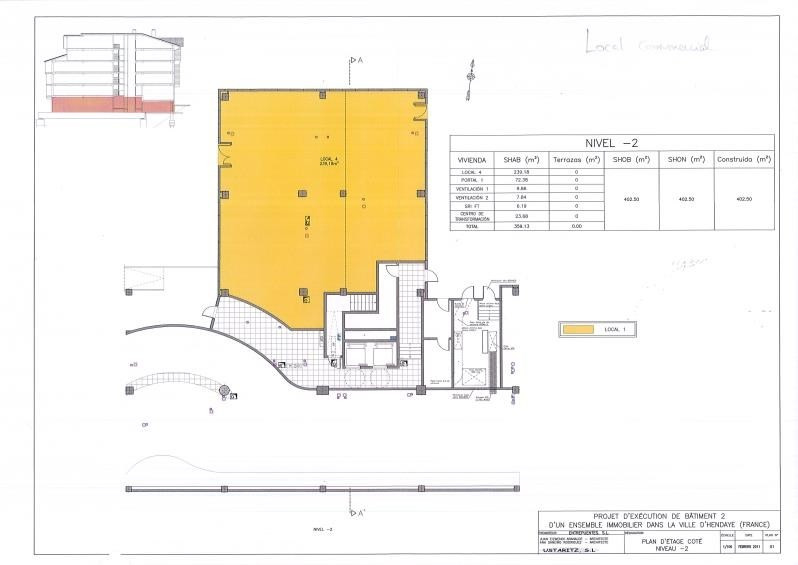 Vente local commercial Hendaye 230 000€ - Photo 2
