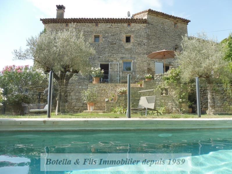 Vente de prestige maison / villa Uzes 548000€ - Photo 1