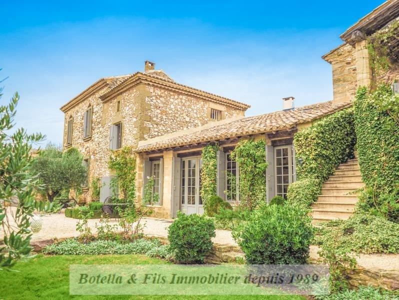 Vente de prestige maison / villa Uzes 1890000€ - Photo 1