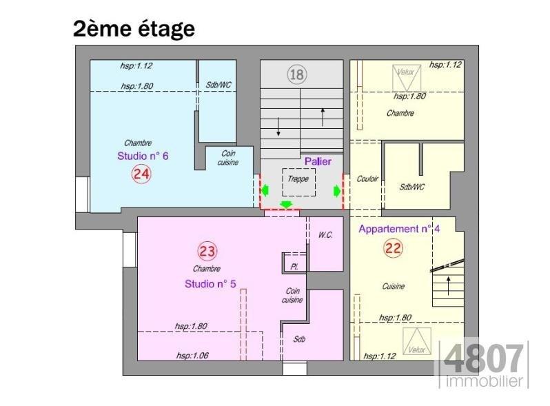 Produit d'investissement immeuble Sallanches 266000€ - Photo 3