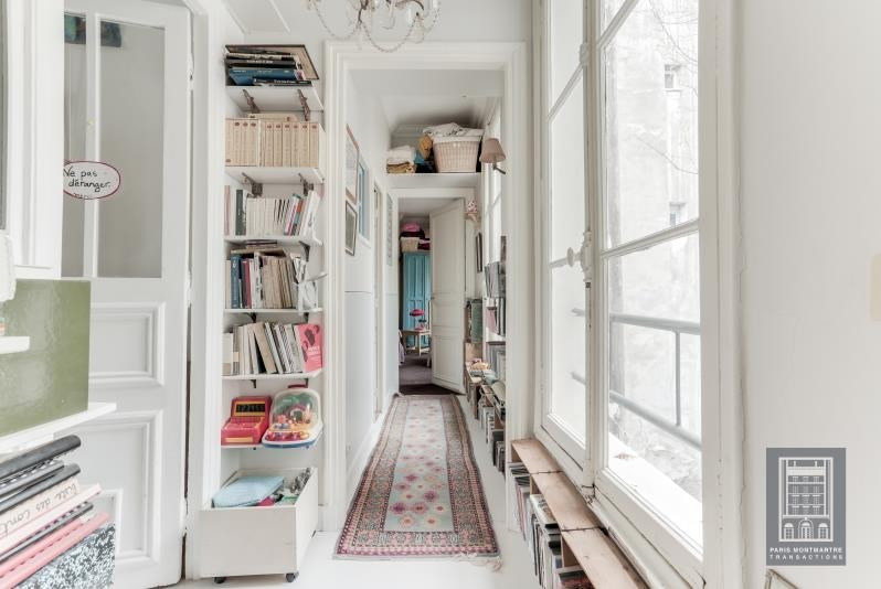 Vente de prestige appartement Paris 18ème 1260000€ - Photo 9