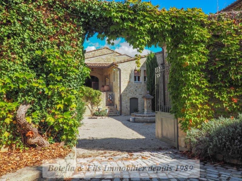 Venta de prestigio  casa Uzes 1690000€ - Fotografía 1