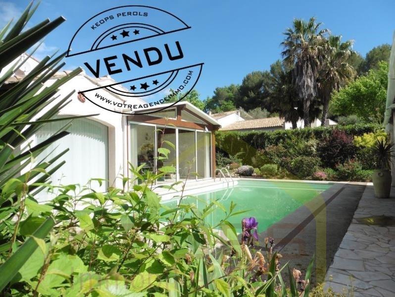 Sale house / villa St aunes 413000€ - Picture 1