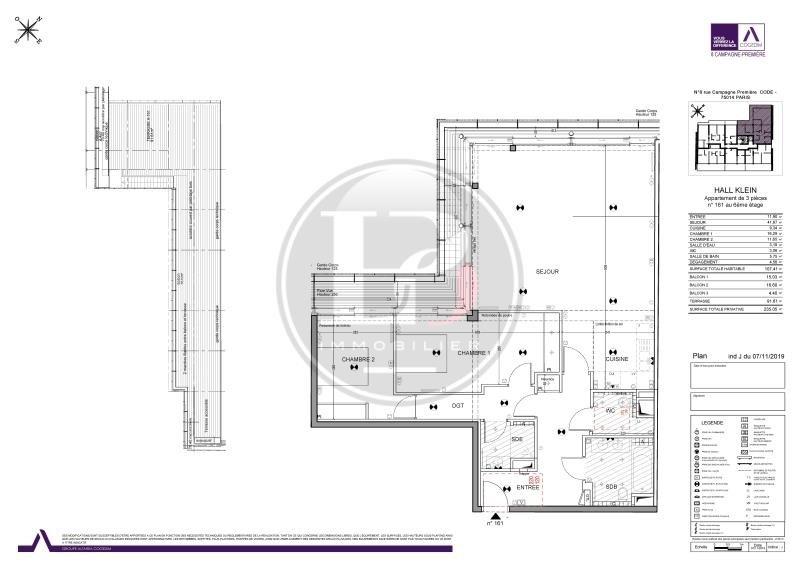 Venta de prestigio  apartamento Paris 14ème 2850000€ - Fotografía 8