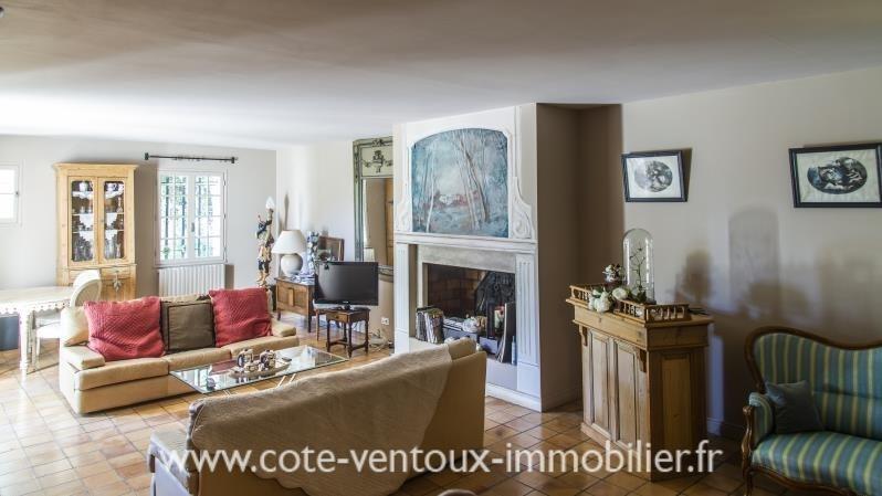 Sale house / villa Sarrians 420000€ - Picture 2