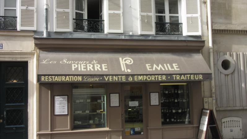 Commercial property sale shop Paris 6ème 190 000€ - Picture 1