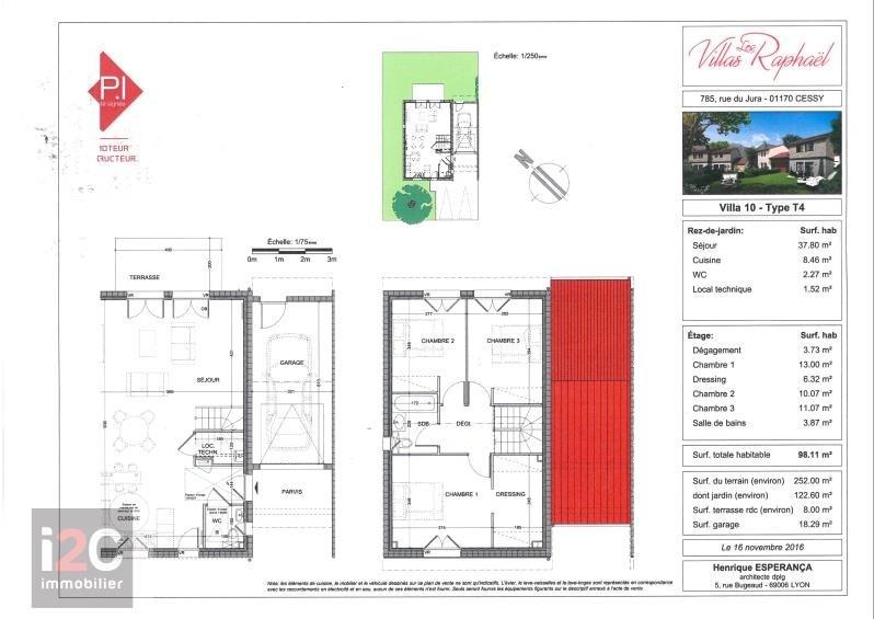 Sale house / villa Cessy 496000€ - Picture 2