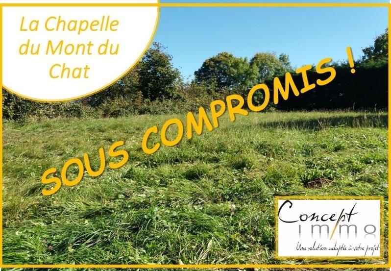 Vendita terreno Le bourget du lac 88000€ - Fotografia 1