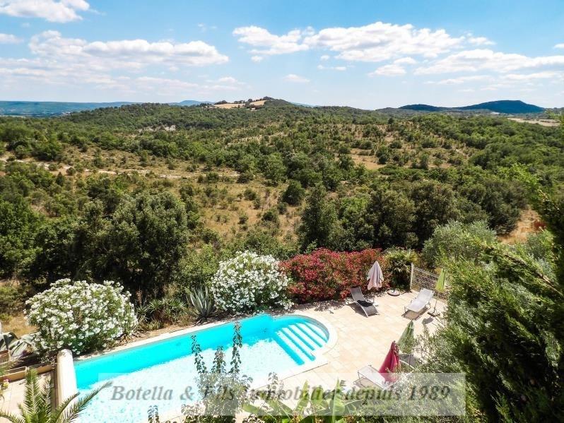Vente de prestige maison / villa Barjac 624000€ - Photo 1