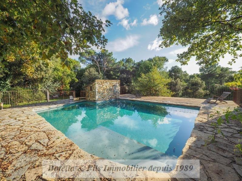 Venta de prestigio  casa Uzes 698000€ - Fotografía 12