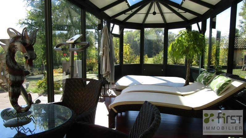 Deluxe sale house / villa Groisy 602000€ - Picture 2