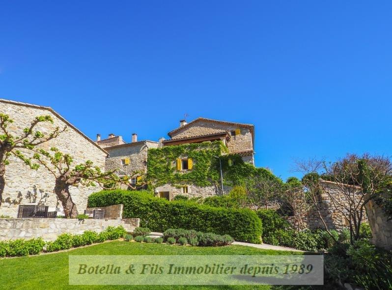 Immobile residenziali di prestigio casa Uzes 1100000€ - Fotografia 1