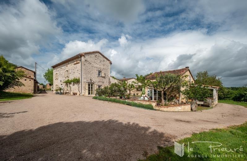 Revenda residencial de prestígio casa Fauch 892000€ - Fotografia 1