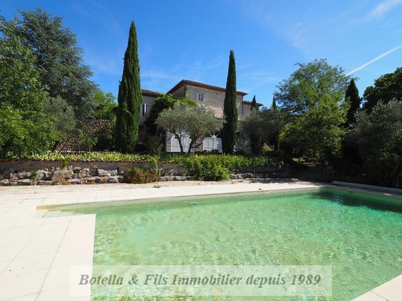 Vente de prestige maison / villa Barjac 650000€ - Photo 1