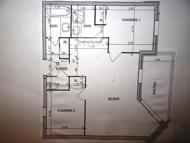 Vente appartement Les arcs 320000€ - Photo 12