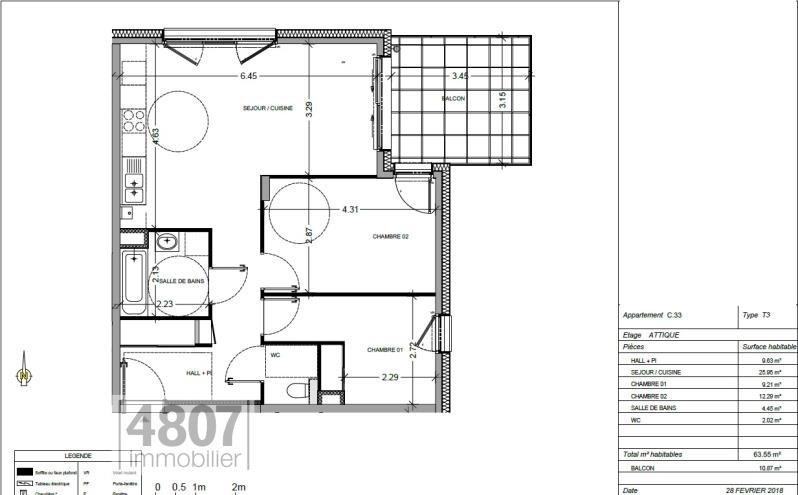 Vente appartement Annemasse 323000€ - Photo 1