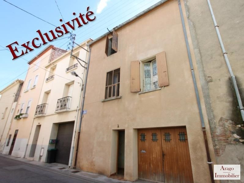 Vente maison / villa Rivesaltes 59 800€ - Photo 1