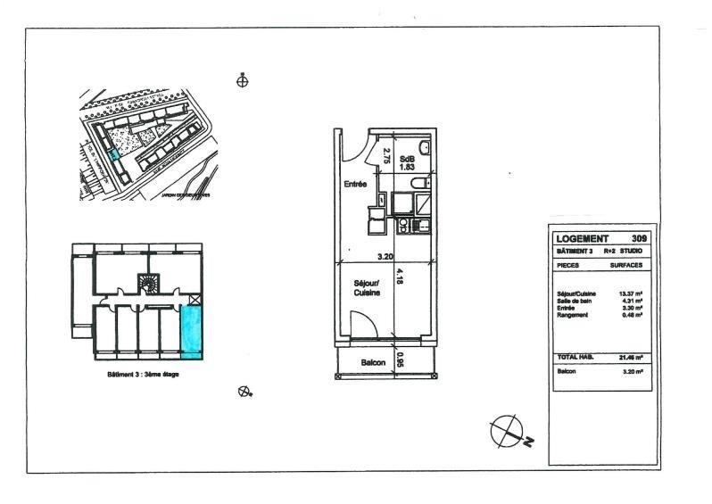 Vente appartement Strasbourg 87000€ - Photo 5