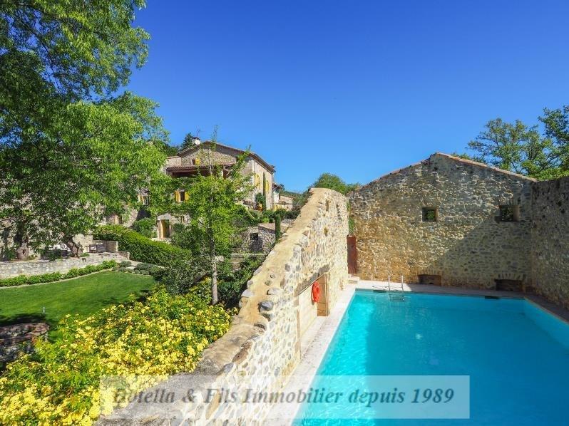Immobile residenziali di prestigio casa Uzes 1100000€ - Fotografia 2