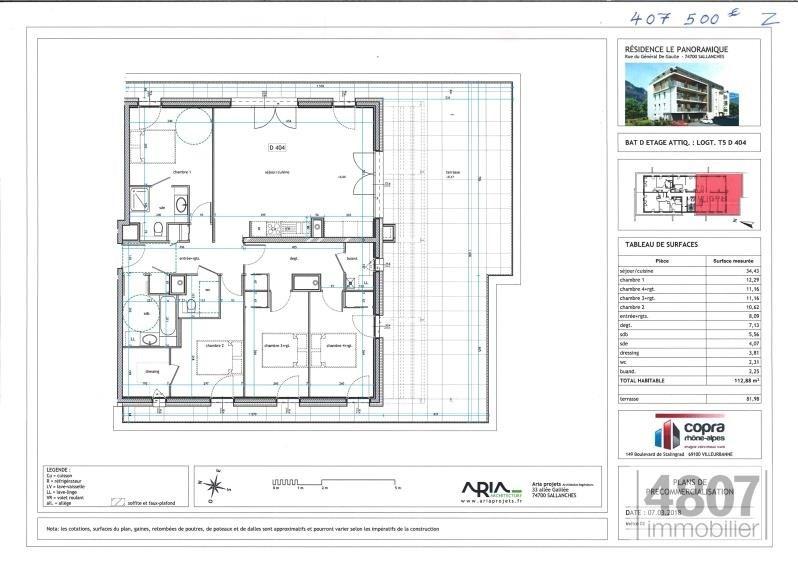 Vente appartement Sallanches 407500€ - Photo 4