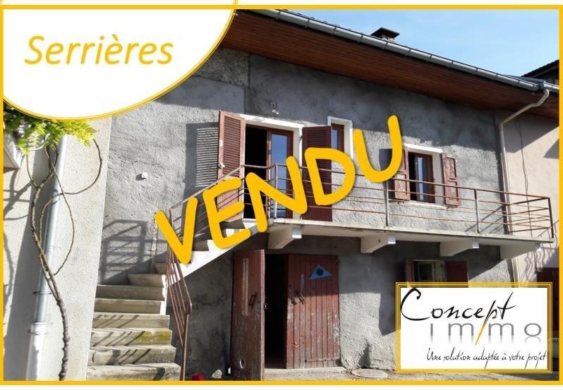 Vente maison / villa Serrieres en chautagne 129000€ - Photo 1