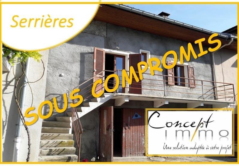 Sale house / villa Serrieres en chautagne 129000€ - Picture 1