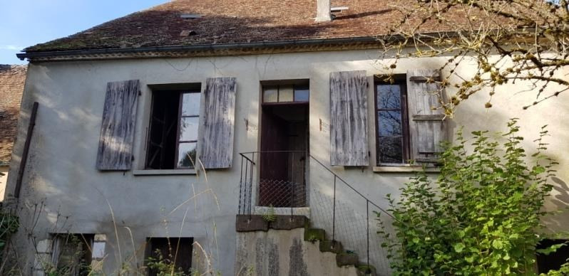 Vente maison / villa Moutiers en puisaye 34 000€ - Photo 2