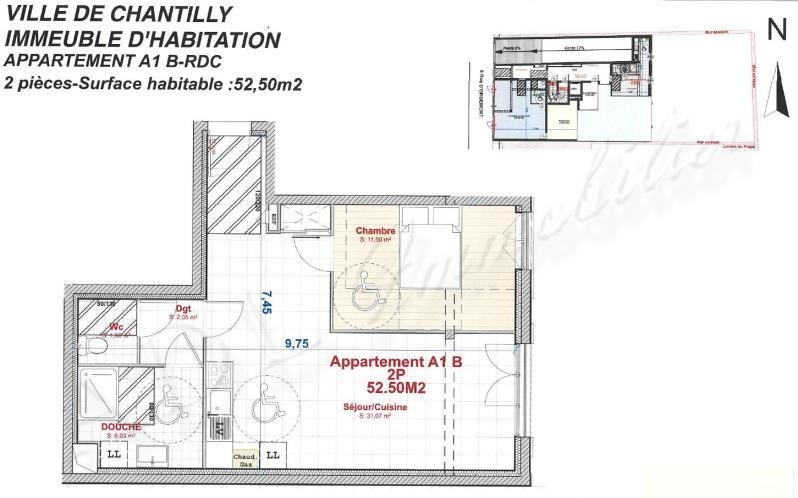 Vente appartement Chantilly 259000€ - Photo 4
