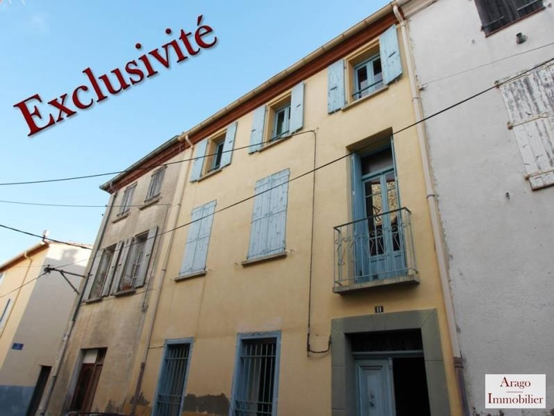 Investment property building Rivesaltes 159000€ - Picture 1
