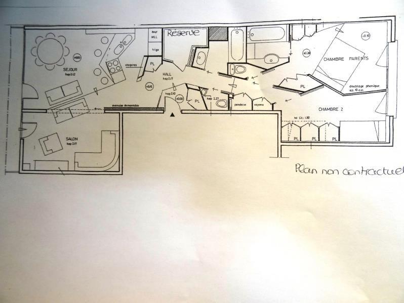 Vente appartement Les arcs 295000€ - Photo 8