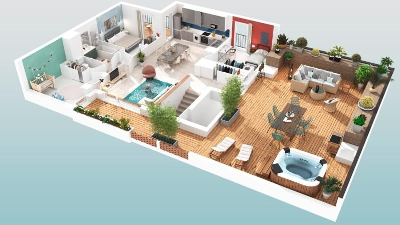 Vente appartement Toulouse 230000€ - Photo 2