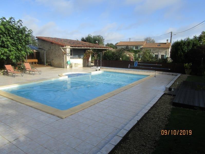Vente maison / villa Pamproux 270400€ - Photo 2