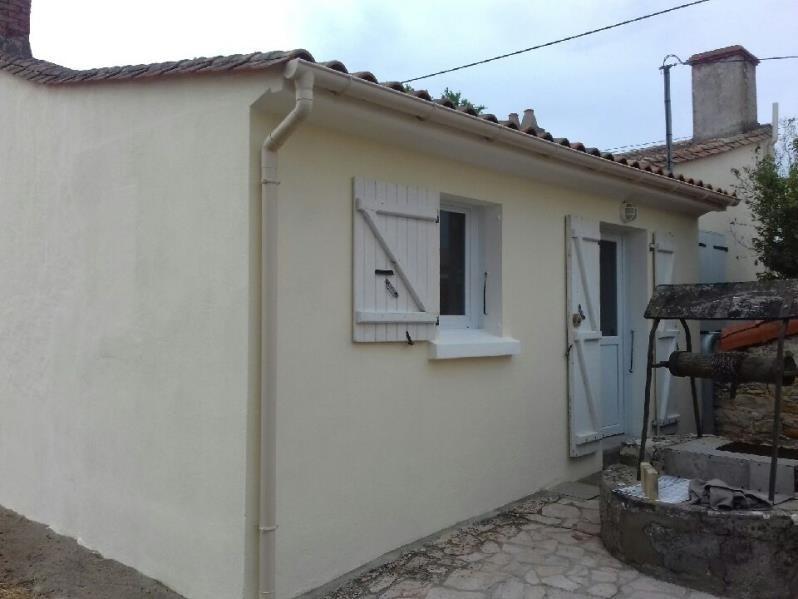 Vente maison / villa St vincent sur jard 176800€ - Photo 4