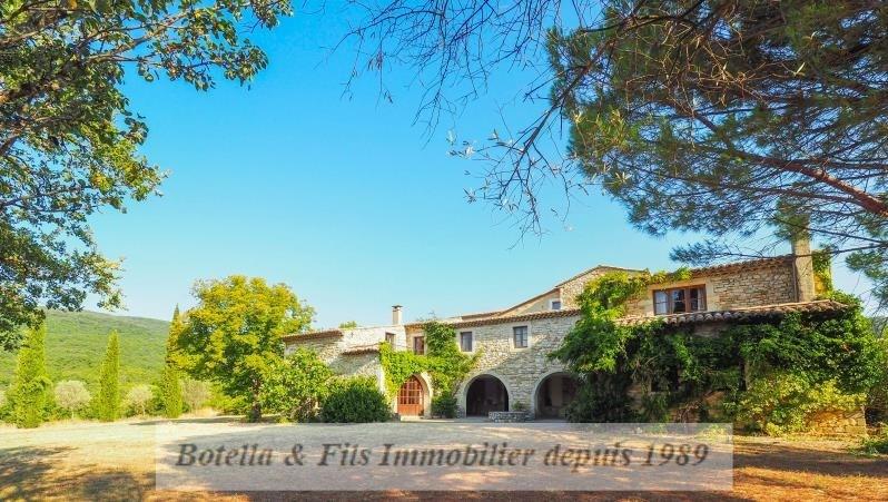 Vente de prestige maison / villa Uzes 985000€ - Photo 2