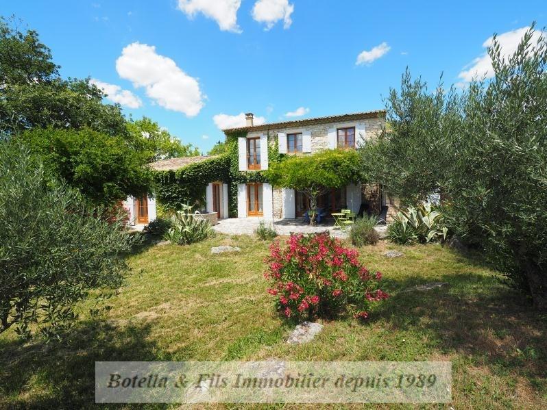 Vente de prestige maison / villa Goudargues 526000€ - Photo 1