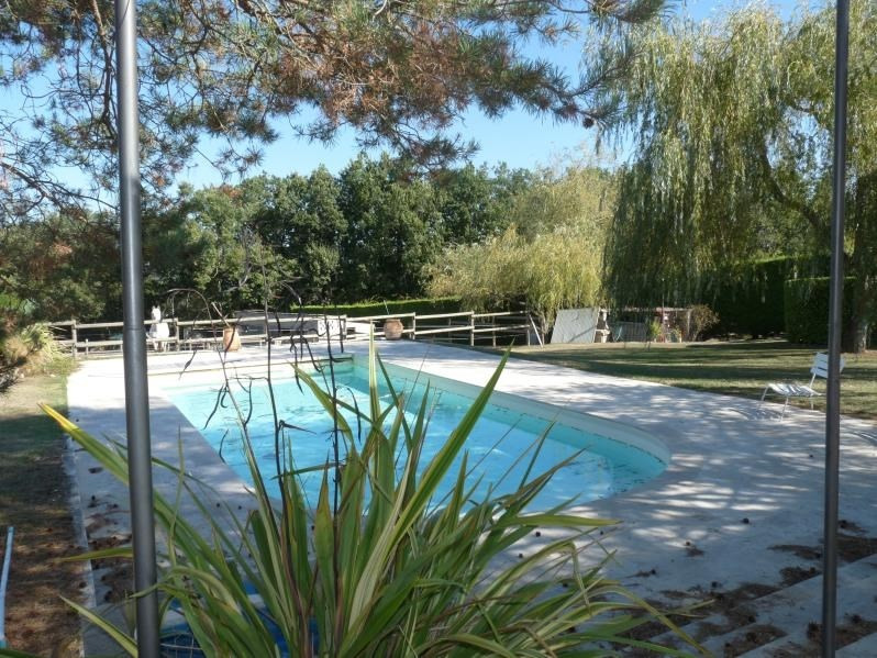 Deluxe sale house / villa Laroque timbaut 420 000€ - Picture 8